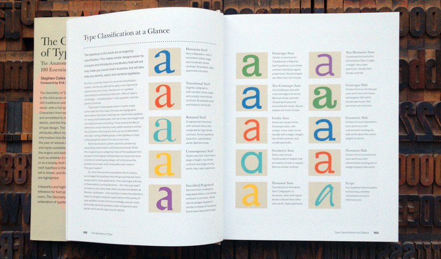 """The Geometry of Type"""", 100 typefaces explained by typographer"""
