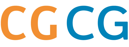 The missing horizontal crossbar of the Dutch road signage font (orange) makes C and G harder to distinguish. In blue are my C and G in my typeface.